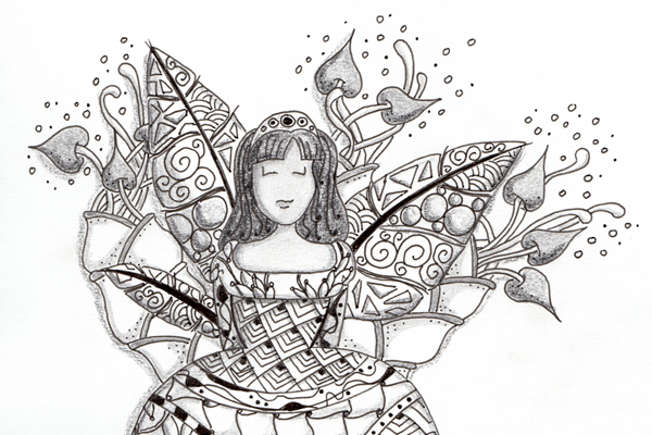 Princesse Zentangle