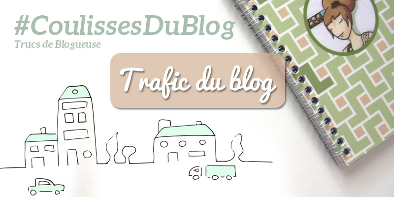 #CoulissesDuBlog Trafic