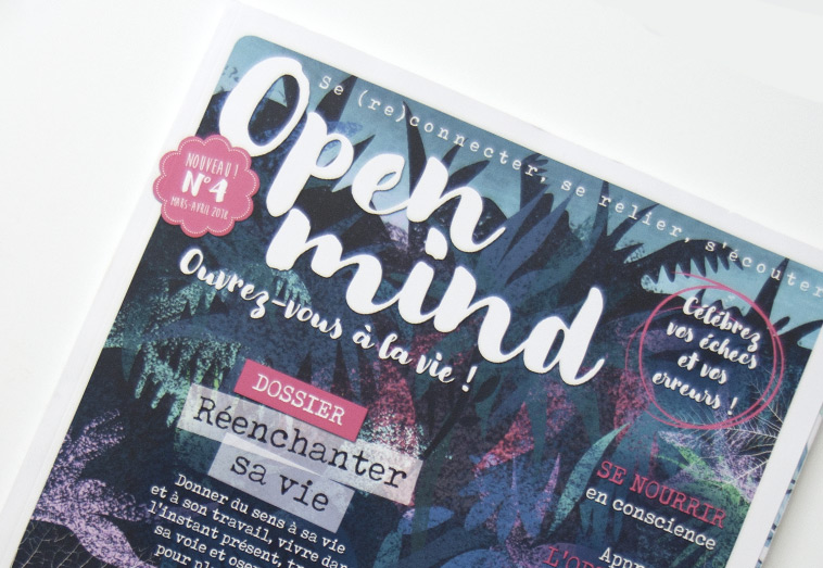 Le magazine Open Mind