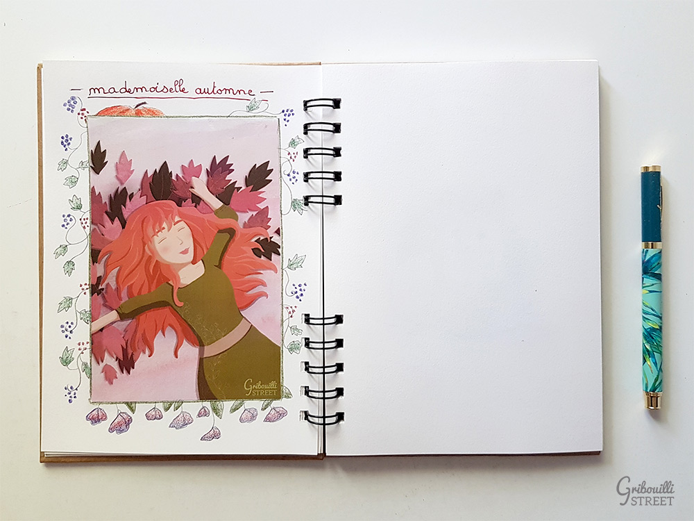 Mademoiselle Automne Bullet journal