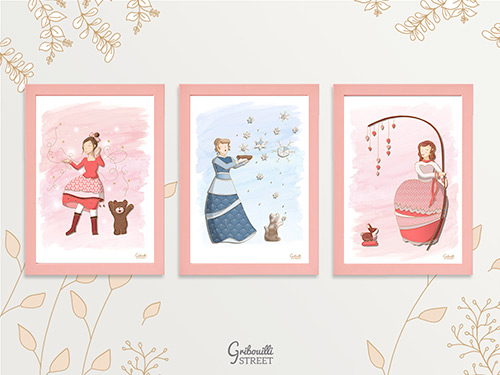 Illustrations hiver