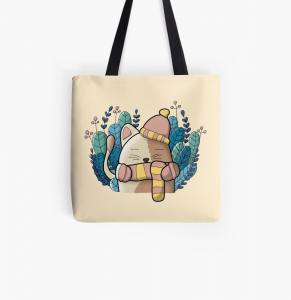 Tote bag chat !